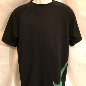Nike Dri-Fit Athletic Side Printed Logo Tee Shirt